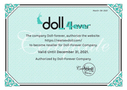 real sex doll brand authorization certificate (12)